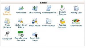 การตั้งอีเมล์ใน cPanel